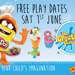 Free Play dates for the UK |Play-Doh, Smyths Toy Superstore and The Creation Station