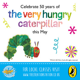 Happy Birthday Caterpillar | The Creation Station and The Very Hungry Caterpillar