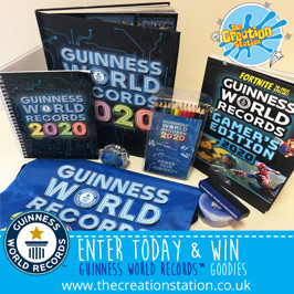WIN a Guinness World Records Hamper with The Creation Station