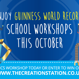 Win a robotics workshop with The Creation Station and Guinness World Records