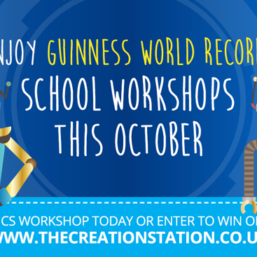 The Creation Station & GUINNESS WORLD RECORDS partner for the second time this year