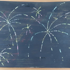 Make it Monday | Let's make Firework Scratch Art