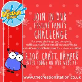 Festive Family Challenge - WIN £100 Craft Hamper!
