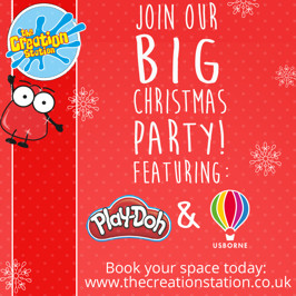 The BIG Christmas party with Usborne & Play Doh!