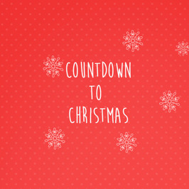The Countdown to Christmas!