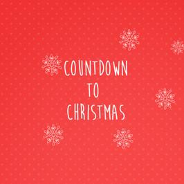 The Countdown to Christmas!