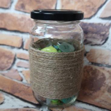 Make it Monday | Recycled Jar Storage