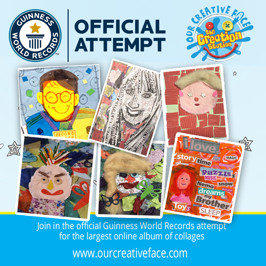 Exciting GUINNESS WORLD RECORD ™ attempt to do at home for all ages - Let's be OFFICIALLY AMAZING ™