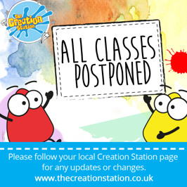 Creation Station All Classes Postponed Until Further Notice