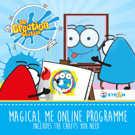 Online Craft Magcial Me Sessions or your 18 months to 5 year old.