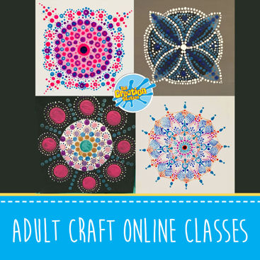 Online Adult Creative Craft Courses and Events