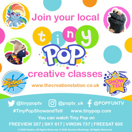 Tiny Pop Show and tell - get involved!