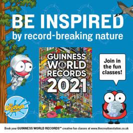 GUINNESS WORLD RECORDS inspired classes across the UK