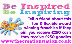 Be inspiring, tell a friend and earn £250