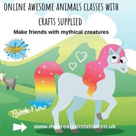 Online Creative sessions for your preschool children