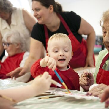 Sixteen Benefits of Intergenerational Activities