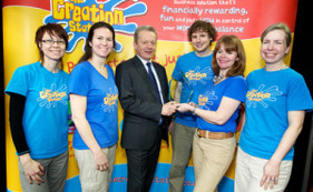 The Creation Station Franchise Wins The Best National Franchisee Support Award.