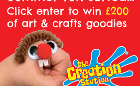 Win £200 of fantastic arts & crafts materials with The Creation Station