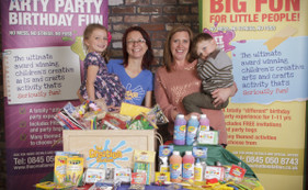 Debbie McGovern, mum to 2, wins £200 worth of Creation Station goodies