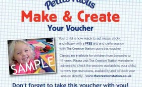 Petit Filous & Frubes and The Creation Station have teamed up to inspire our nation with free art and crafts classes for children.
