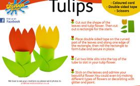 Tip toe through the tulips...