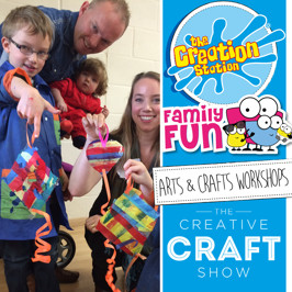 The Creation Station & The Creative Craft Show Exeter 2019