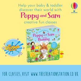 Poppy & Sam bounce into sessions this April