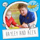 Alex Parker and Hayley Cronin