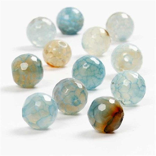 Agate beads