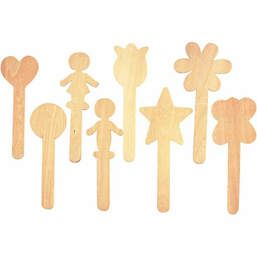 Lolly Stick Shapes