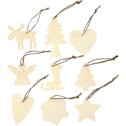 Wooden Ornament - Assortment