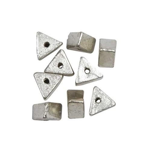 Triangular Metal Beads