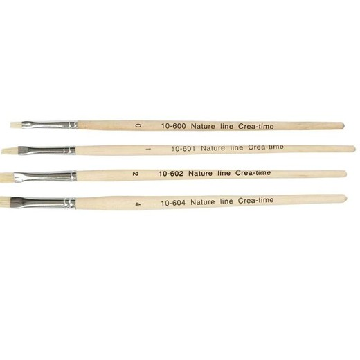 Nature Line Hog Bristle Brushes