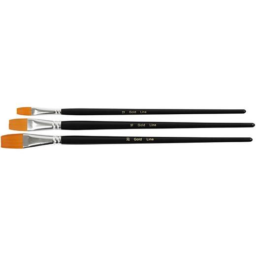 Big Size - Gold Line Brush