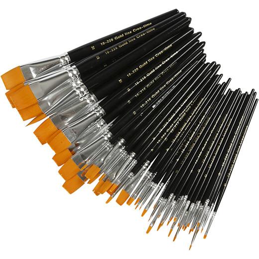 Gold Line Brush