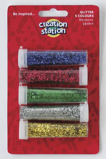 Assorted 5 Glitter pack