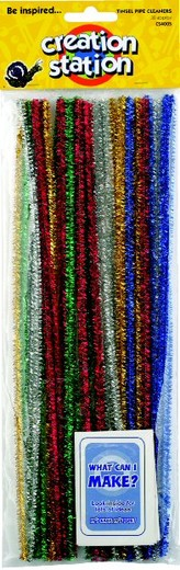 Pipe Cleaners Tinsel x 100