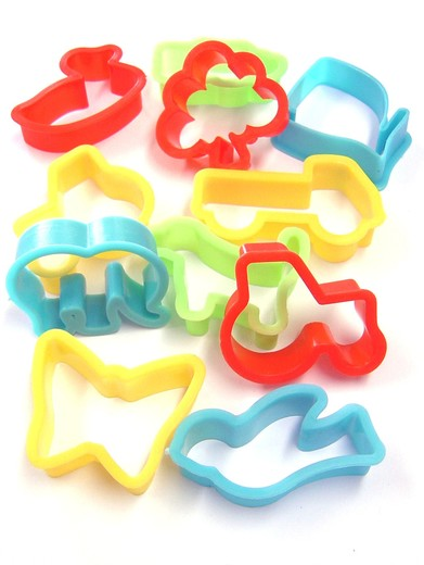 Dough Cutter Shapes x 12