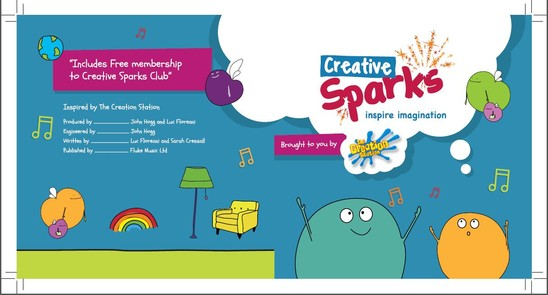 The Creative Sparks Album - CD