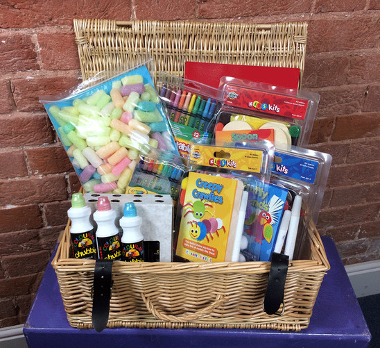 A cool creative hamper