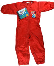 Child's Painting Overall / Splashsuit with FREE Creative Sparks CD!