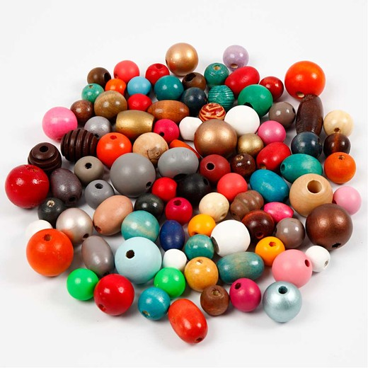 Wooden buttons and Wooden beads