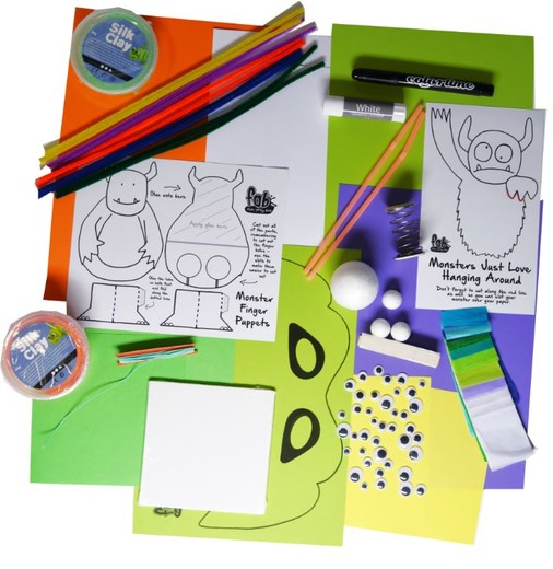 Monsters and Aliens  - Fun Arty Box - FAB