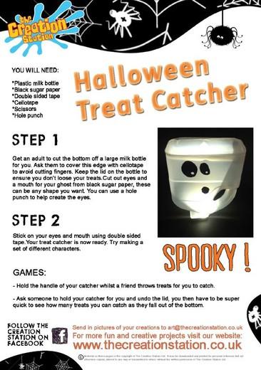 Download Halloween Treat Catcher Activity Sheet