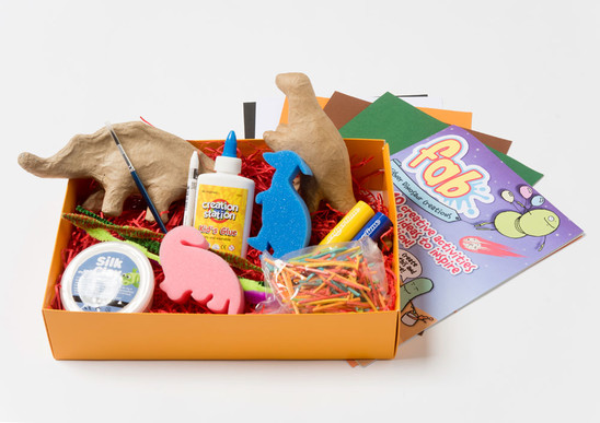 Designer Dinosaurs  - Fun Arty Box - FAB