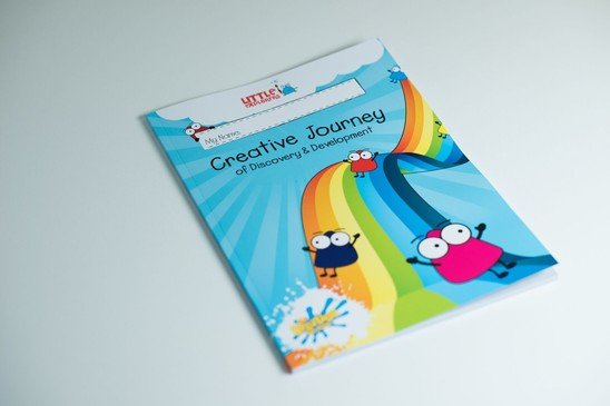 Creative Journey Activity Sticker Book for Classes