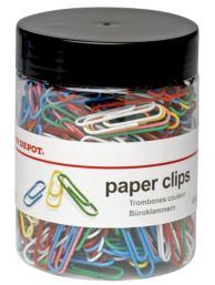Assorted Coloured Paper Clips (500 Approx.)