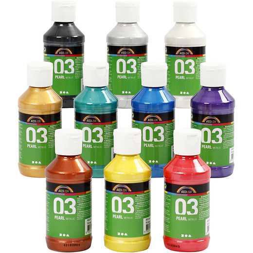 A-Color Acrylic Paint - Assortment