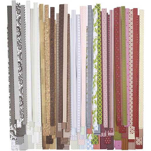 Paper Star Strips