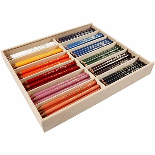 Super Ferby 1 colouring pencils
